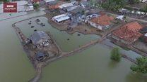 Muara Gembong dan rumah-rumah yang nyaris tenggelam
