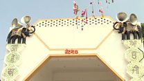 Inside rape guru's 'mini city' complex