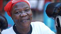 Güney Afrika'nın boksör nineleri