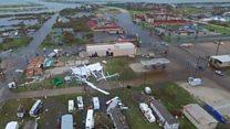 Негода у Техасі: кадри із повітря