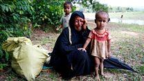 Arakan Müslümanları Bangladeş sınırına yığıldı