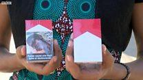 Sénégal: des images choquantes sur les paquets de cigarettes