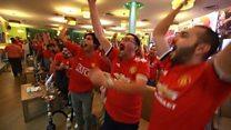 Man U Fan Club for Iraq - 'E pass football'