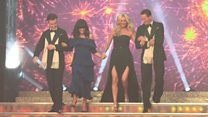 Strictly stars glam up for launch show
