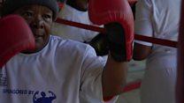 Grands-mères boxeuses