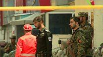 دست کم ۵ نفر کشته و ۸ نفر زخمی در حمله انتحاری به  یک شعبه کابل بانک