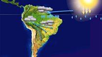 Así se desplazan los ríos voladores de Sudamérica que viajan por el aire