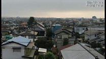 日本の朝にサイレン響く 北朝鮮ミサイル通過