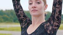 The ballerina who takes to the skies