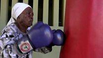 Cənubi Afrikanın boksçu nənələri