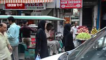 दिल्ली में पाकिस्तान से आए लोगों के बनाए बाज़ार