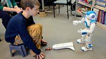 Nao, el robot interactivo que ayuda a niños con autismo