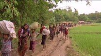 خشونتهای تازه در میانمار، هزاران نفر از اقلیت مسلمان میانمار را آواره کرده