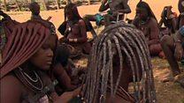 خطر نابودی قبیله هیمبا در کشور نامیبیا