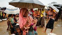 Rohingya exodus: 'They shot dead my husband'