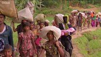 Myanmar'dan kaçan Arakanlı Müslümanlar