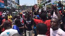 Kenya - élection : la rue célèbre