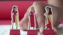 مصممة غرافيكس تصمم لعبة عن الزواج التقليدي