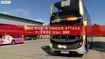 Apology after false alarm on bus