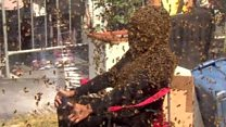 """تسجيل رقم قياسي جديد في تحدي """"لحية النحل"""""""