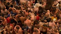 Tomatina! The food fight festival