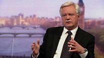 Davis: Brexit bill to 'ensure continuity'