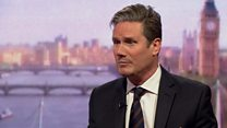 Starmer: 'Grown-up politics from Labour'