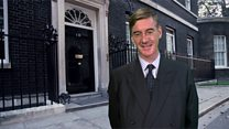Rees-Mogg laughs off leadership talk