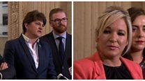 Political talks resume at Stormont