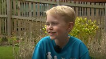 Nine-year-old recovers from heart op