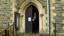 Doors locked as archbishop vote begins