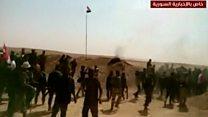 Syrian troops celebrate in Deir al-Zour