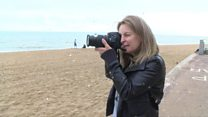 The woman with a passion for taking photos of the Thanet skies