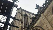 York cathedral scaffold tour on offer