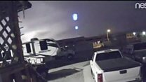 Meteor caught on camera