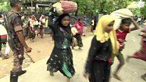 BBC müxbiri Rohinca düşərgəsinə baş çəkib