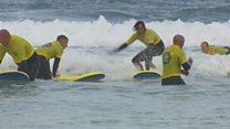 Grenfell firefighters have seaside break