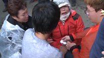 S Koreans protest against missile defences