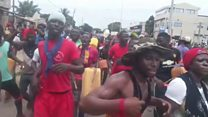 Togo protesters return to streets of Lome