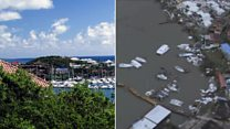 Paradise lost: Before and after Irma