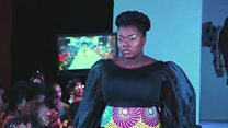 Plus-size models 'proud of their curves'