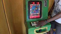Slot machines 'hard to resist' in Ghana