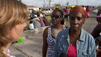 Desperation and chaos on Barbuda
