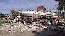 بزرگترین زلزله یک قرن اخیر مکزیک را لرزاند