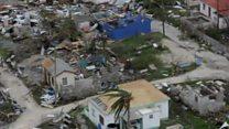 توفان ایرما سن مارتن را در هم کوبیده و به سمت فلوریدا میرود