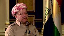 گفتگوی بی بی سی فارسی با مسعود بارزانی