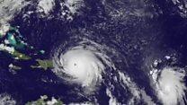 Hurricane Irma from space
