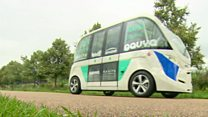 Watch: The first driverless buses on the streets of London