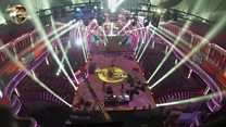 Watch the Strictly set build in 60 seconds