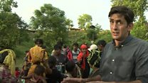 Rohingya Muslims fight for survival